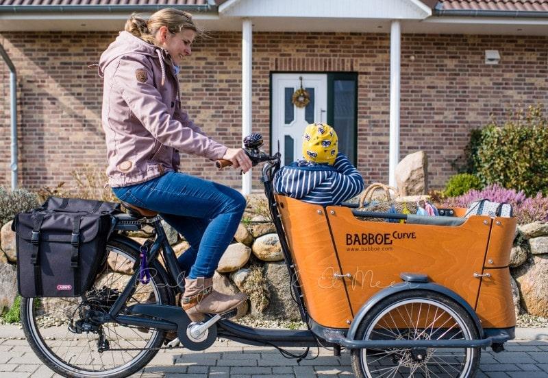 Fahrradtour mit Babboe Curve E Lastenrad 1