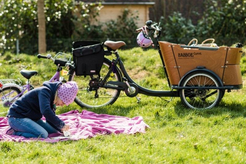 Fahrradtour mit Babboe Curve E Lastenrad 10