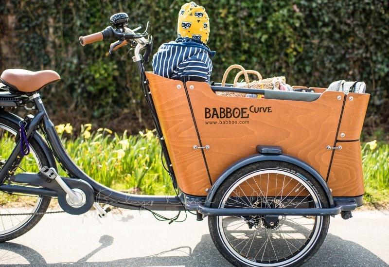 Fahrradtour mit Babboe Curve E Lastenrad 4