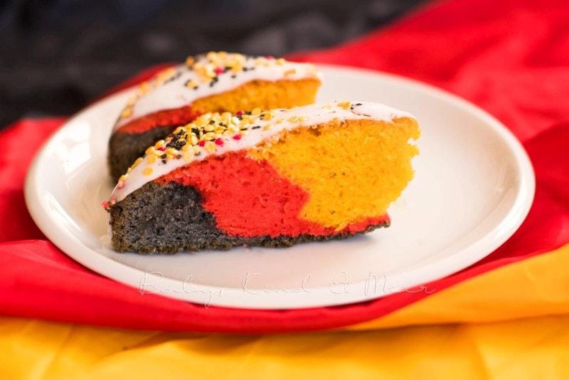 Deutschland Kuchen Regenbogenkuchen 2