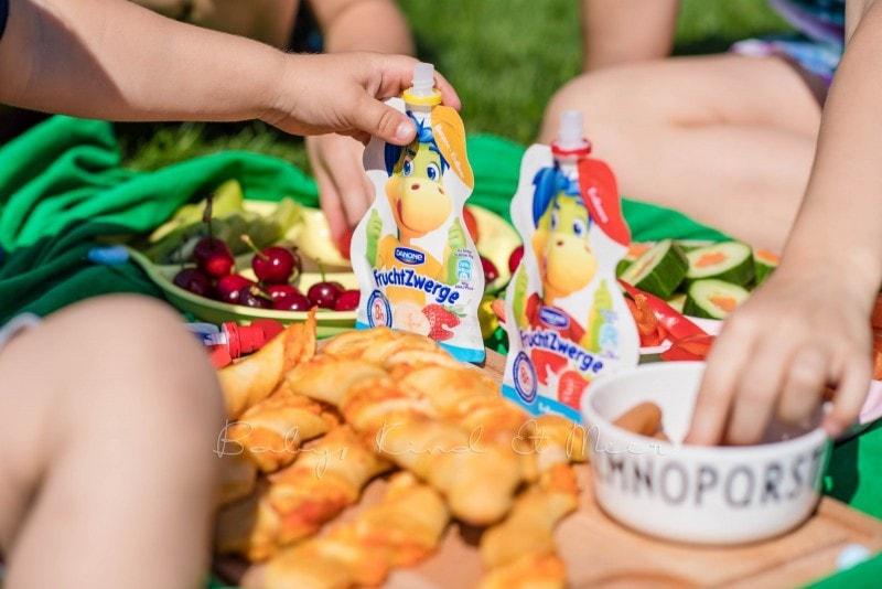 Familienpicknick im Garten 12