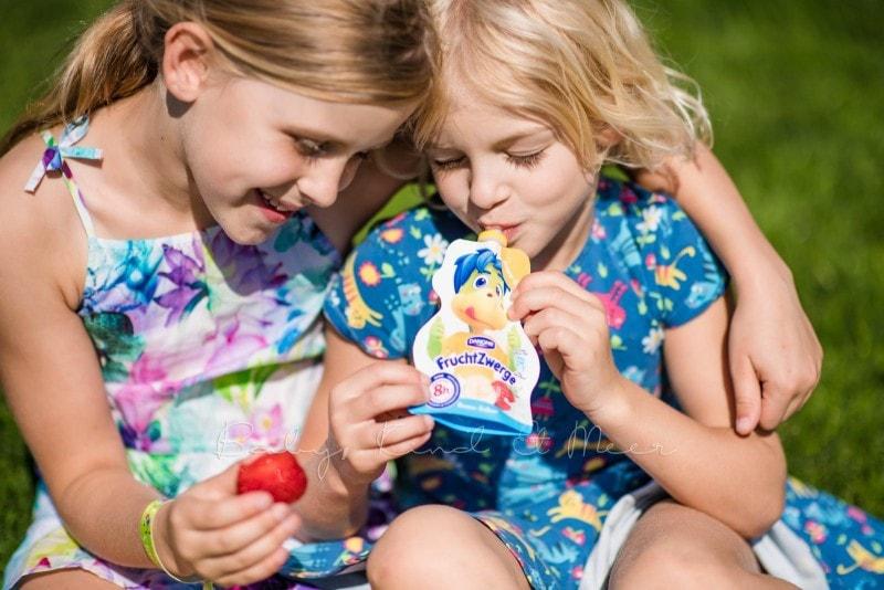 Familienpicknick im Garten 6