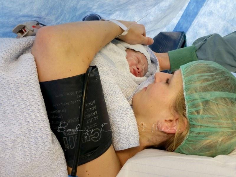 Kaiserschnitt Geburt 9