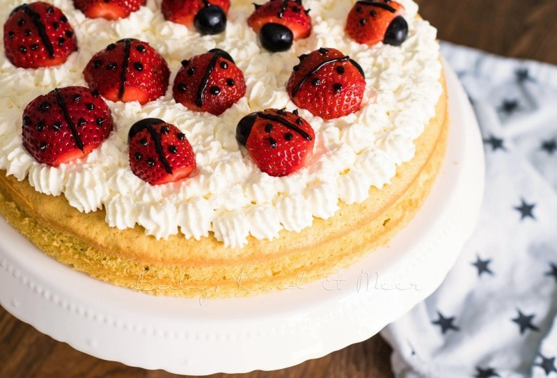 Marienkaefer Torte 10