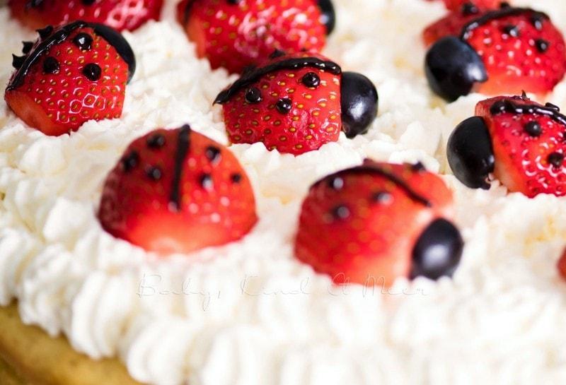Marienkaefer Torte 6