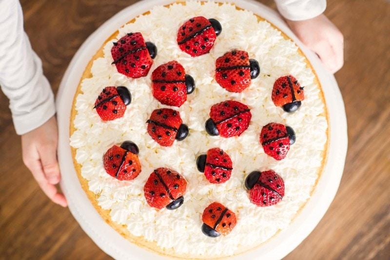 Marienkaefer Torte 7