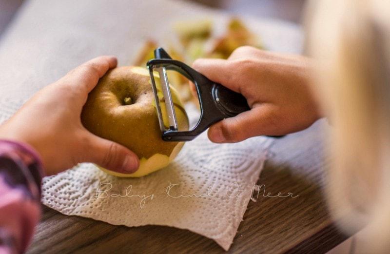 Apfelkuchen mit Marzipanguss Rezept 17