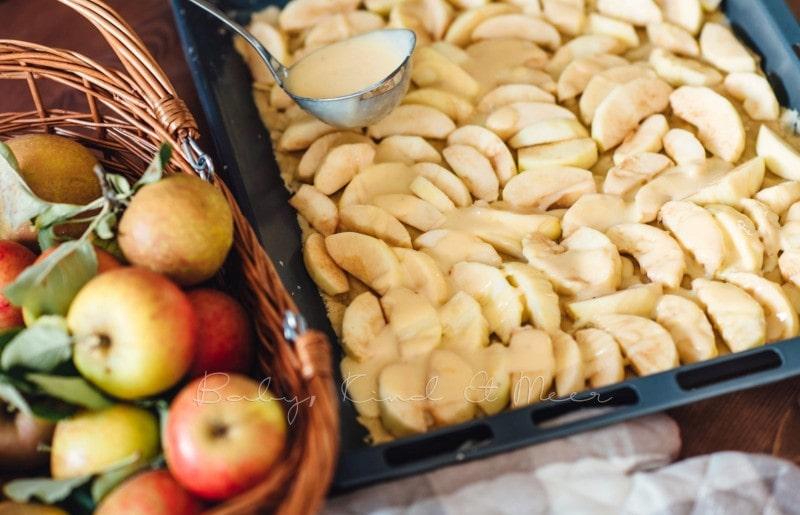 Apfelkuchen mit Marzipanguss Rezept 7