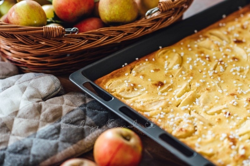 Apfelkuchen mit Marzipanguss Rezept 8