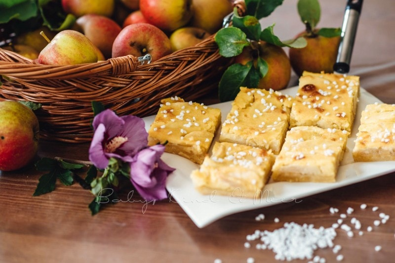 Apfelkuchen mit Marzipanguss Rezept 9