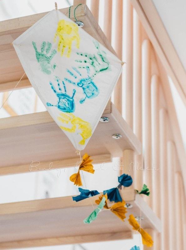bunte drachen basteln  eine anleitung für kinder von baby