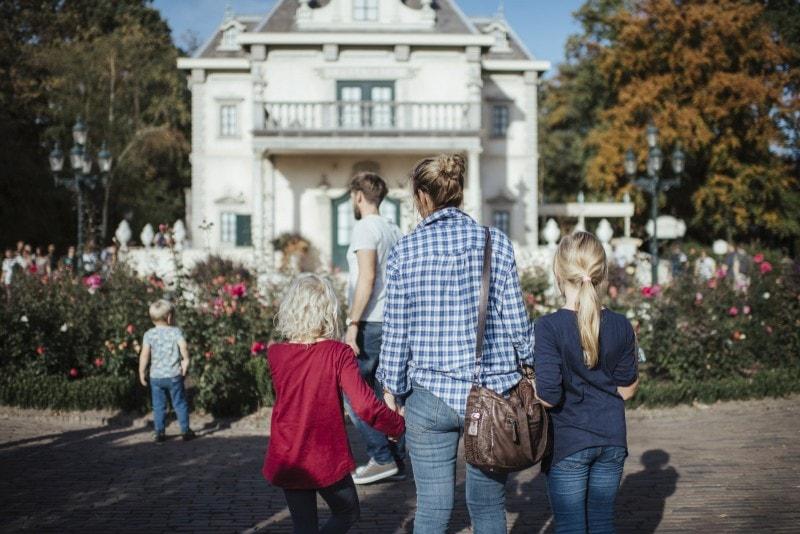 Efteling Freizeitpark im Herbst 18