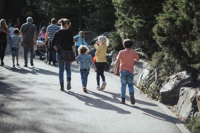 Efteling Freizeitpark im Herbst 45