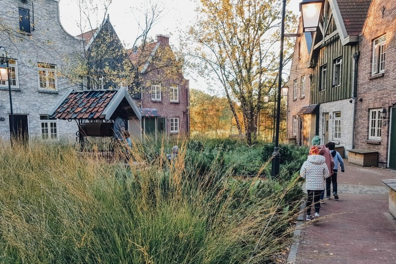 Efteling Freizeitpark im Herbst 53
