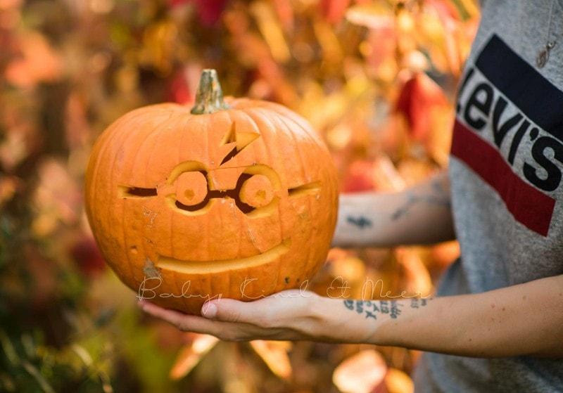 Halloween Kuerbisse schnitzen 5