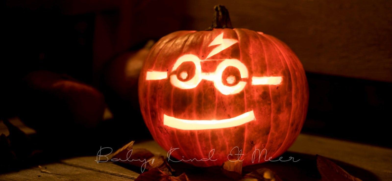 Kürbis Schnitzen Zu Halloween Kinderleichte Anleitung Mit Vorlage
