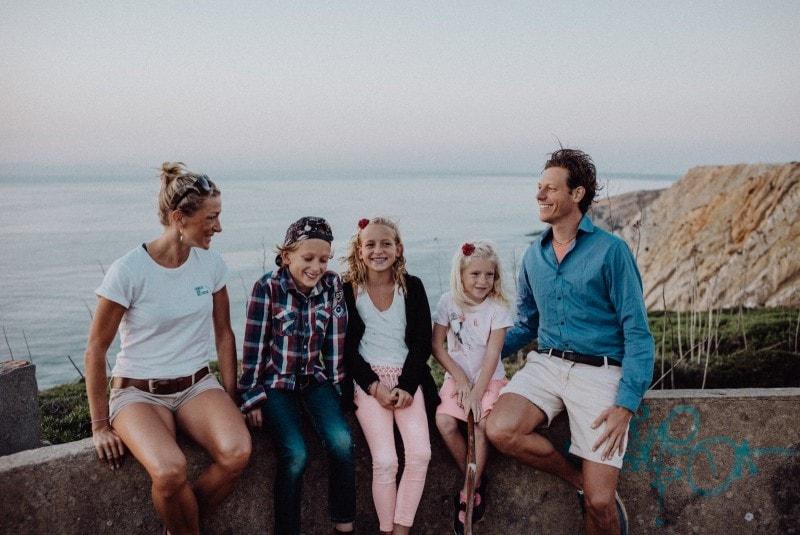 Portugal Familienfoto
