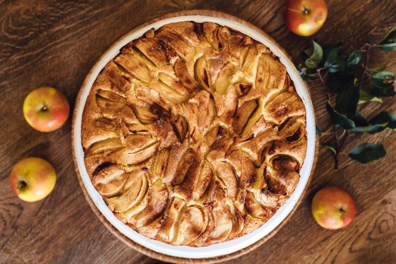 Versunkener Apfelkuchen Rezept 4