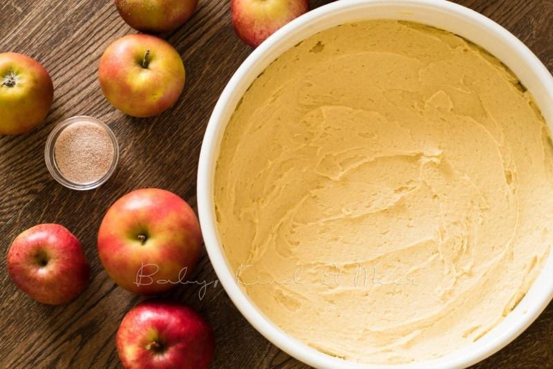 Versunkener Apfelkuchen Rezept 8