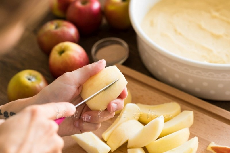 Versunkener Apfelkuchen Rezept 9