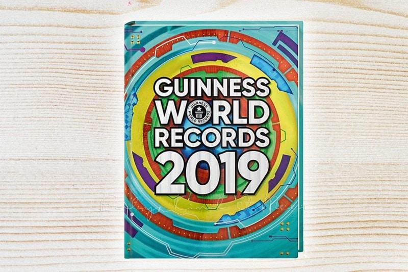 Geschenkideen zu Weihnachten Guinness Buch 2019