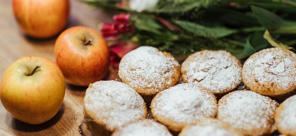 Rezept Apfel Zimt muffins