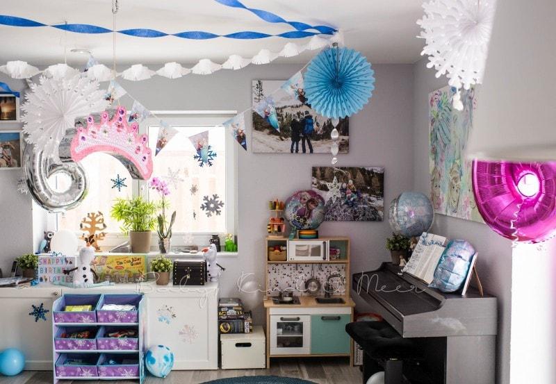 Eiskoenigin Party Elsa Party 16