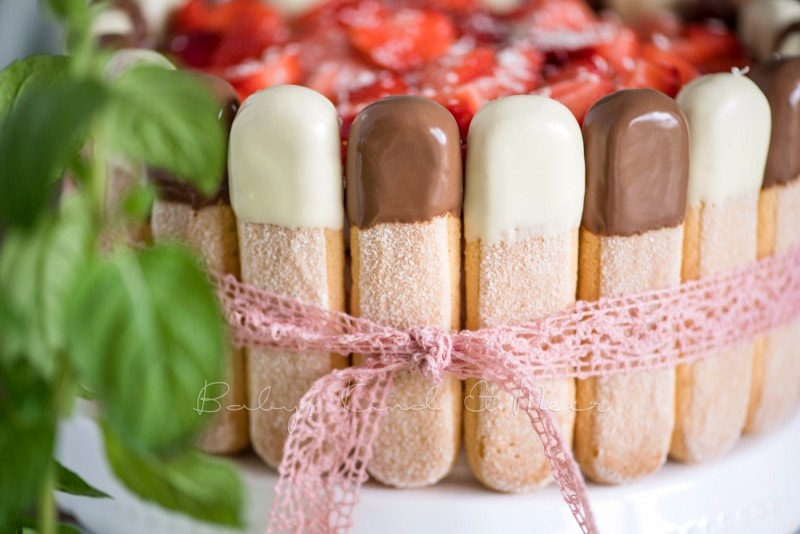 Erdbeer Tiramisu Torte Rezept 14