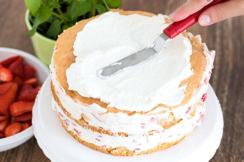 Erdbeer Tiramisu Torte Rezept 9