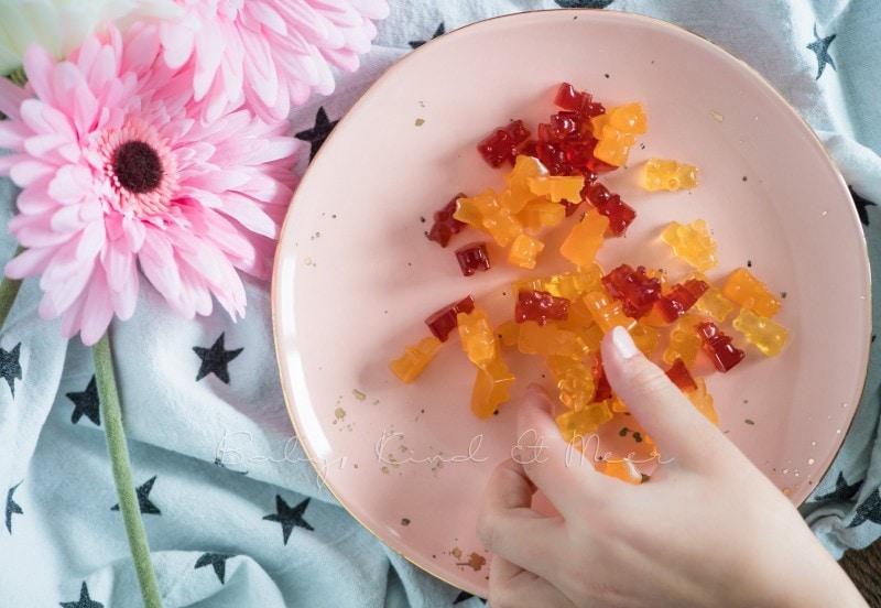 Gummibaerchen selber machen Manuka Honig 8