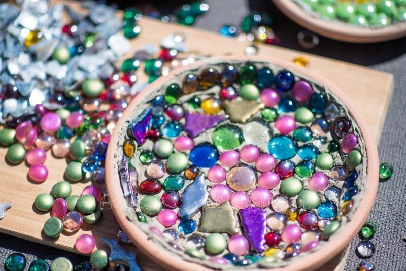 Mosaik Futterschalen 10