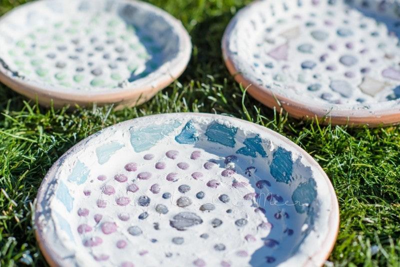 Mosaik Futterschalen 12