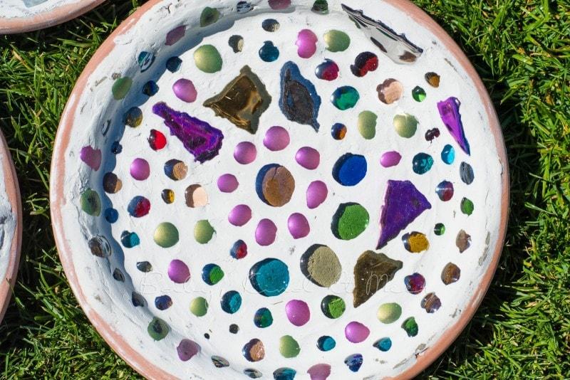 Mosaik Futterschalen 13