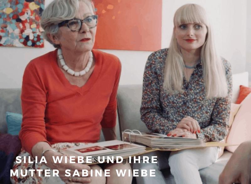 Silia Wiebe und Mutter Sabine
