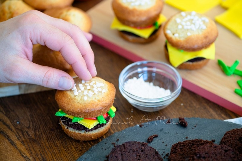 Cheeseburger Muffins mit Kekspommes 3