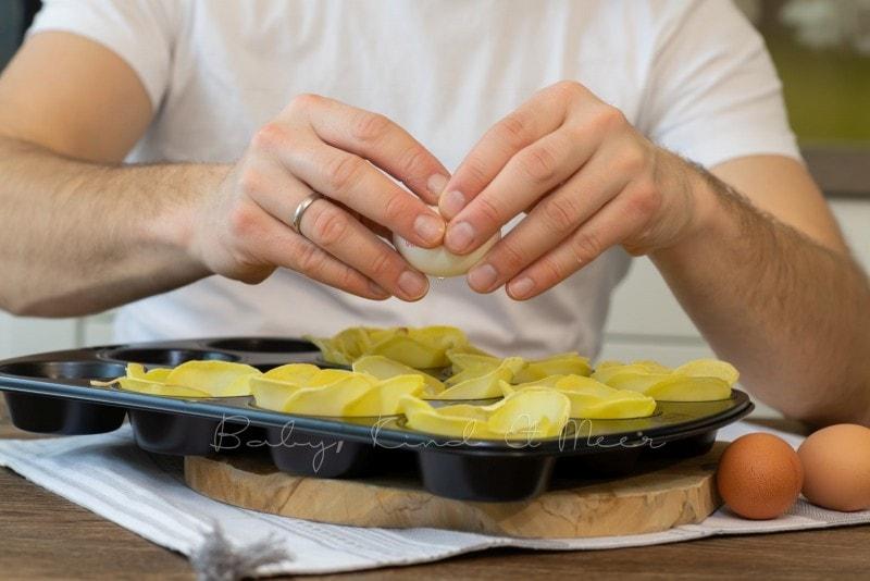 Rezept Kartoffelblumen 11