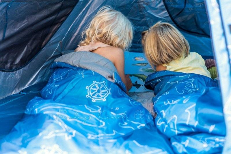 Baby Kind und Meer Schlafsack outdoorer Dream Sailor 17
