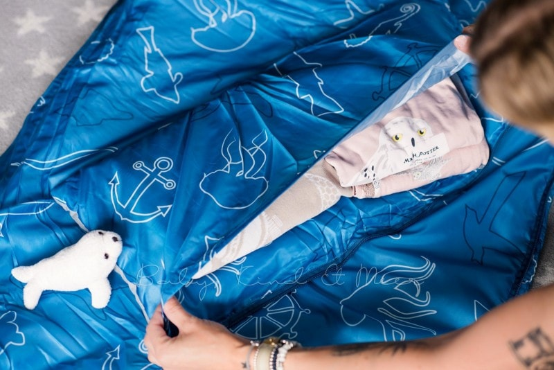 Baby Kind und Meer Schlafsack outdoorer Dream Sailor 26
