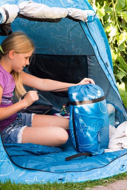 Baby Kind und Meer Schlafsack outdoorer Dream Sailor 7