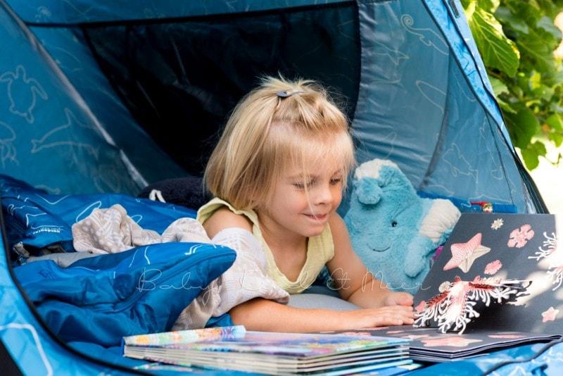 Baby Kind und Meer Schlafsack outdoorer Dream Sailor 8