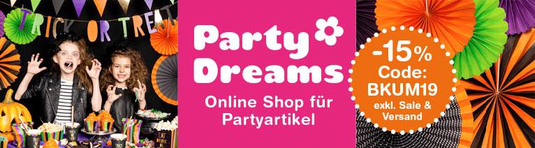 partydreams banner