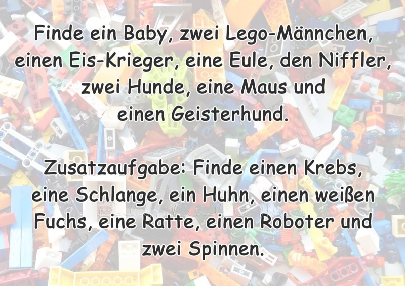 Lego Wimmelbuch selber machen 11