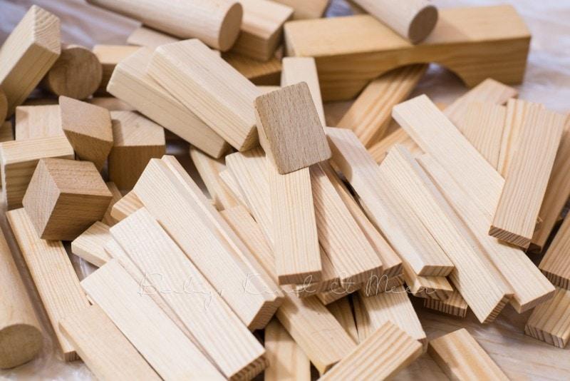 DIY Holzbausteine selber faerben 9
