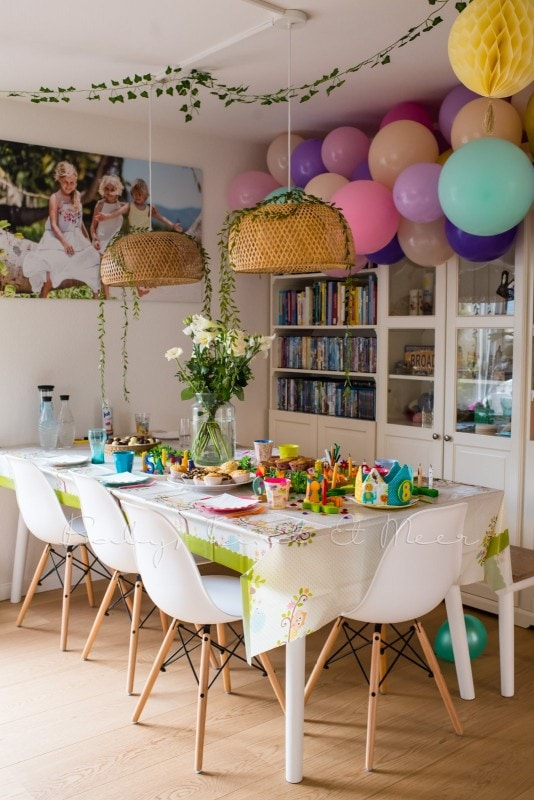 Lottes 8 Geburtstag Zauberwald Party babykindundmeer 14