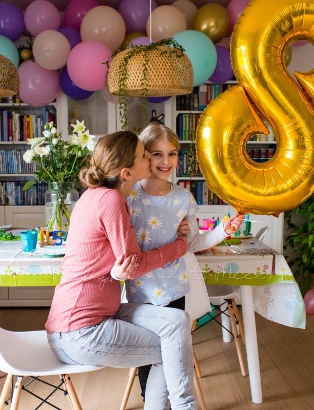 Lottes 8 Geburtstag Zauberwald Party babykindundmeer 17