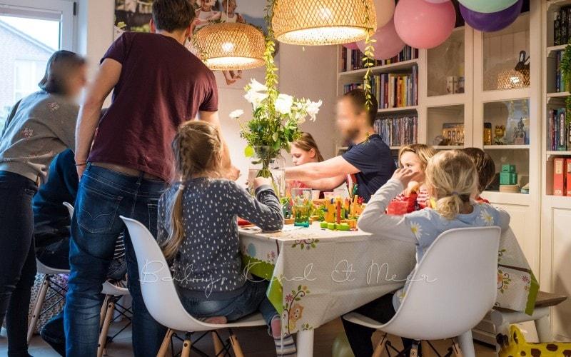 Lottes 8 Geburtstag Zauberwald Party babykindundmeer 20