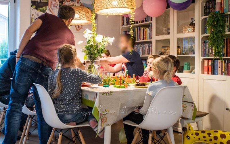 Lottes 8 Geburtstag Zauberwald Party babykindundmeer 21