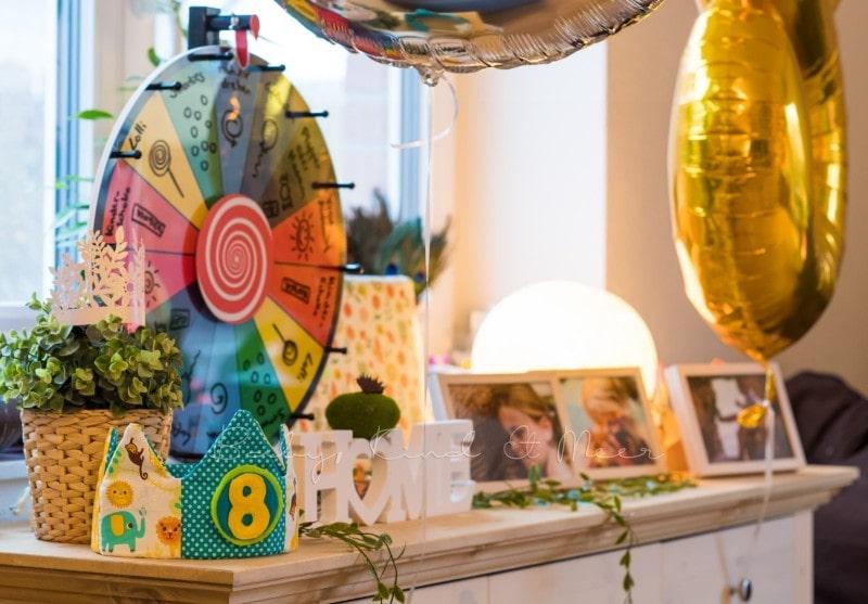Lottes 8 Geburtstag Zauberwald Party babykindundmeer 22