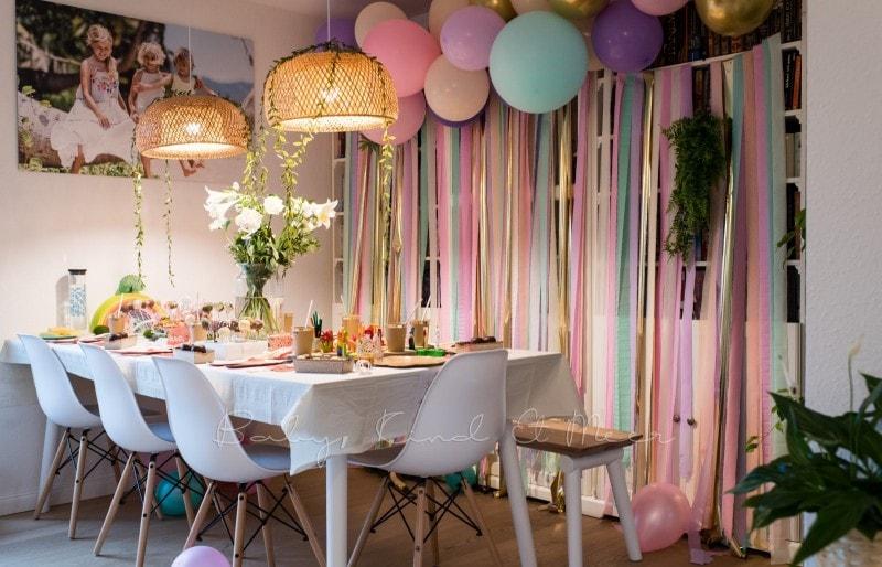 Lottes 8 Geburtstag Zauberwald Party babykindundmeer 35