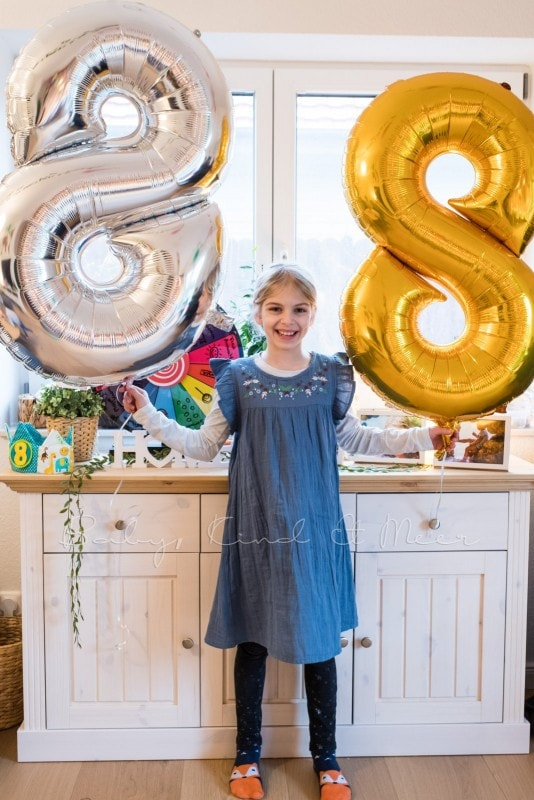 Lottes 8 Geburtstag Zauberwald Party babykindundmeer 36